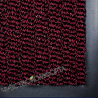 Грязезащитный ковер Спектрум красный