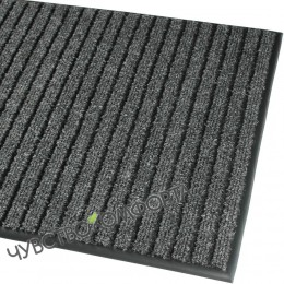 Грязезащитный ковер Аркос стар антрацит 78*107см с окантовкой.