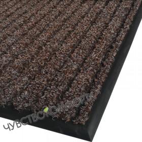 Грязезащитный ковер Аркос стар коричневый 100*149см с окантовкой.