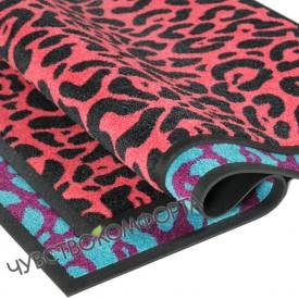 Придверный коврик Профи стар Леопард
