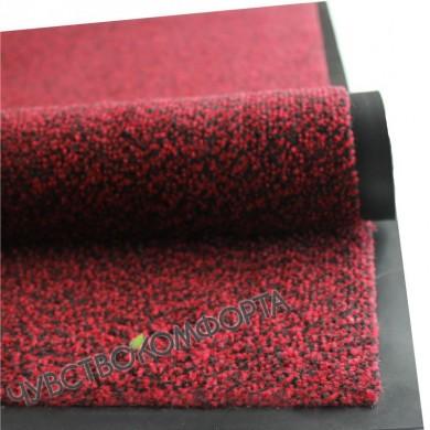 Придверный коврик Марс красный