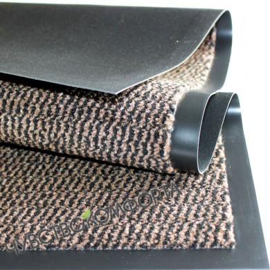 Придверный ковер Спектрум коричневый