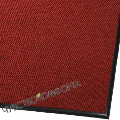 Придверный коврик Супер стар красный 116*99см с окантовкой.