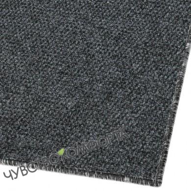 Придверный коврик Супер Стар оверлок антрацит