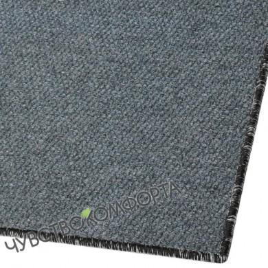 Придверный коврик Супер Стар оверлок серый 101*86см.
