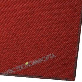 Придверный коврик Супер Стар оверлок красный