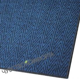 Придверный коврик Зип Стар оверлок синий 69*99см. ПО АКЦИИ