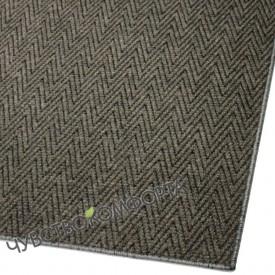 Придверный коврик Зип Стар оверлок коричневый 100*150см. ПО АКЦИИ