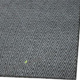 Придверный коврик Зип Стар оверлок серый 98*148см.