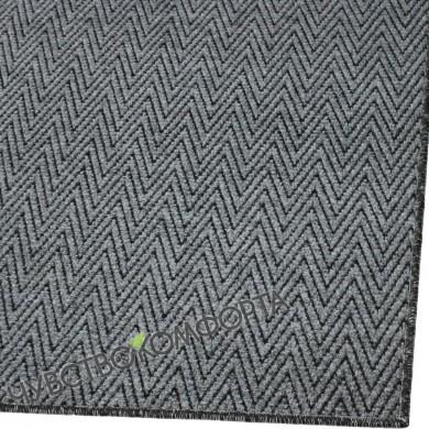 Придверный коврик Зип Стар оверлок серый