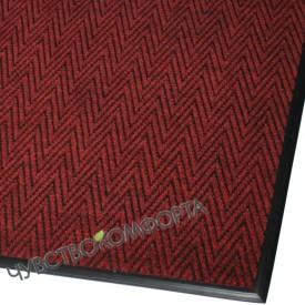 Придверный коврик Зип Стар красный с окантовкой ПО АКЦИИ